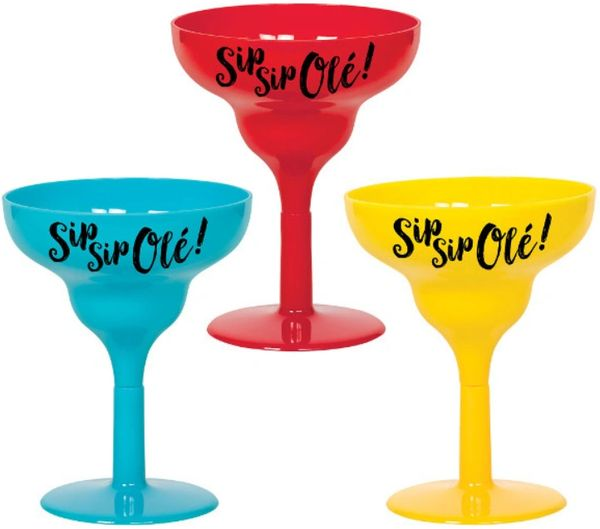 Margarita Shot Glasses, 1.7 oz - 6ct
