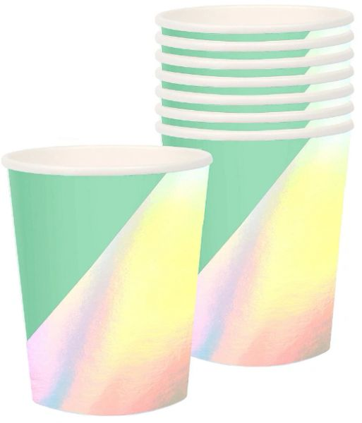Shimmering Party Cups, 12oz - 8ct