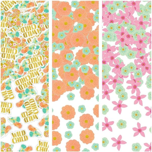 Boho Birthday Girl Value Pack Confetti