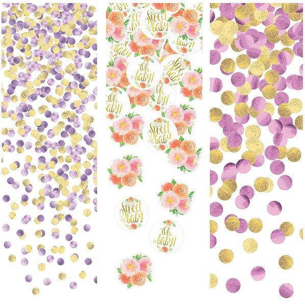 Floral Baby Confetti