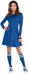 Women's Blue Flare Dress - Adult Standard