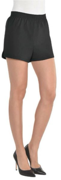 Women's Black Sport Shorts - Adult S/M & L/XL