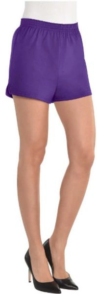 Women's Purple Sport Shorts - Adult S/M & L/XL