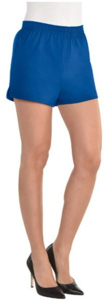 Women's Blue Sport Shorts - Adult S/M & L/XL