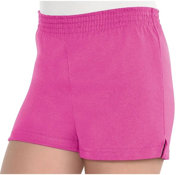 Girls Pink Sport Shorts - Child Standard