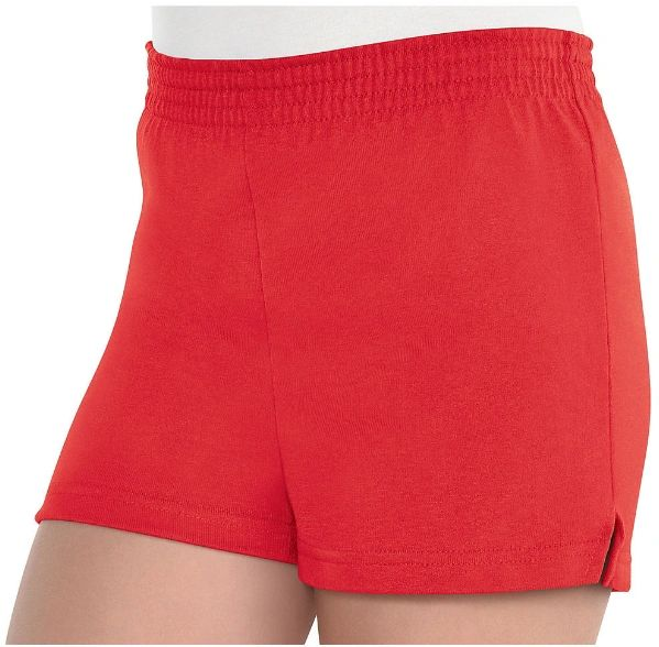 Girls Red Sport Shorts