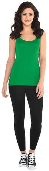 Women's Green Tank Top - Adult Standard