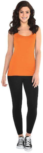 Women's Orange Tank Top - Adult Standard