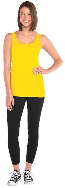 Women's Yellow Tank Top - Adult Standard
