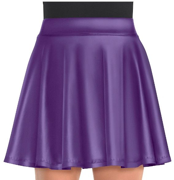 Women's Purple Flare Skirt - Adult Standard