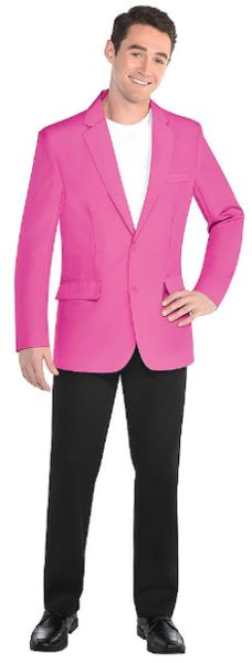 Adult Pink Jacket - XS/S, M/L, L/XL