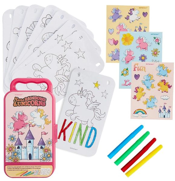 Unicorns Sticker Activity Kit