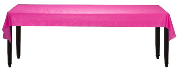 """Bright Pink Solid Table Roll, 40"""" x 100'"""