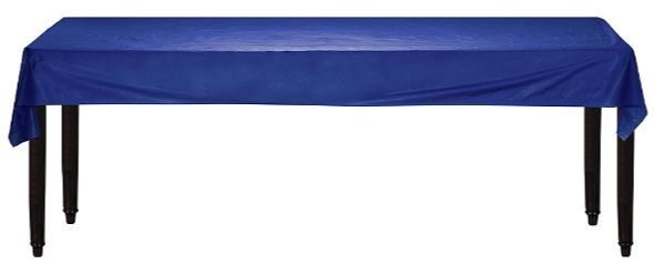 """Navy Flag Blue Solid Table Roll, 40"""" x 100'"""