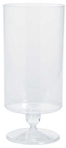Tall Cylinder Plastic Jar - Clear
