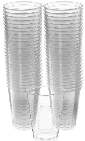 Big Party Pack Clear Plastic Cups, 16 oz - 50ct
