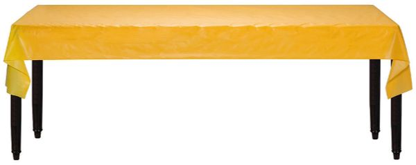 "Yellow Sunshine Solid Table Roll, 40"" x 100'"