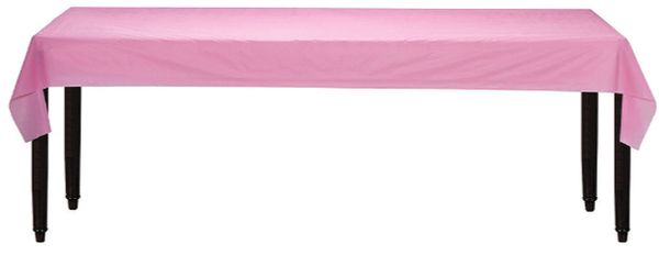 "New Pink Solid Table Roll, 40"" x 100'"
