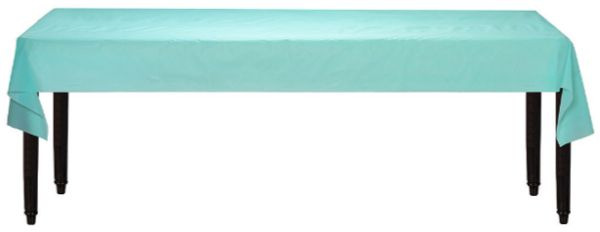 """Robin's-Egg Blue Solid Table Roll, 40"""" x 100'"""