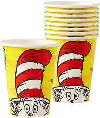 Dr. Seuss Cups, 9 oz - 8ct