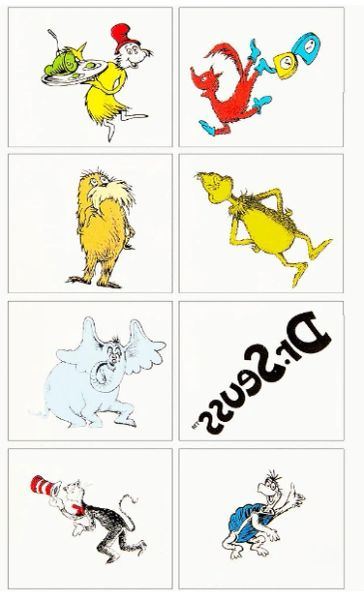 Dr. Seuss Tattoos, 8ct