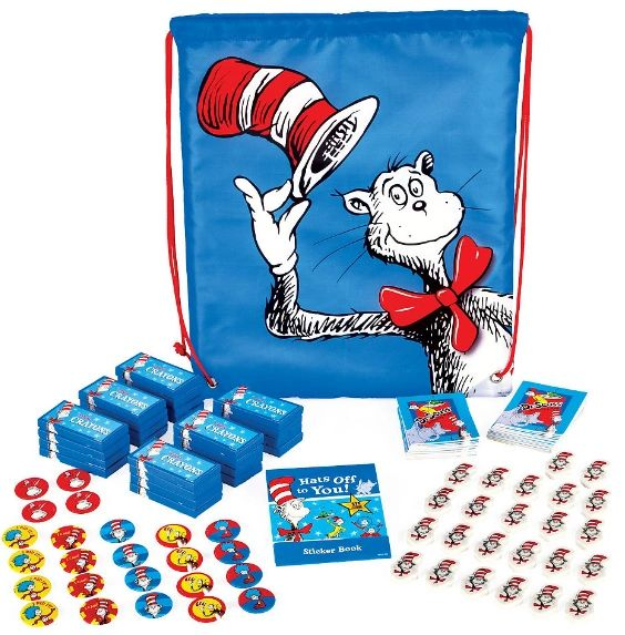 Dr. Seuss Cinch Bag Accessory Kit for 24