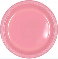 "Pretty Pink Dinner Plates, 10 1/4"" - 20ct"