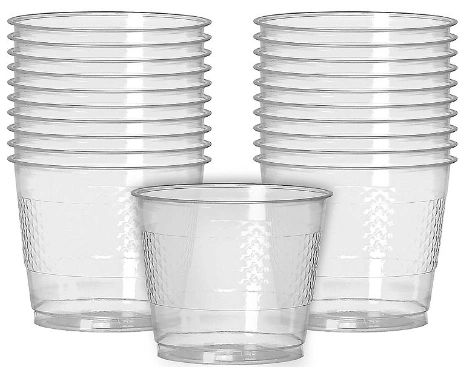 CLEAR Plastic Cups, 9oz - 20ct