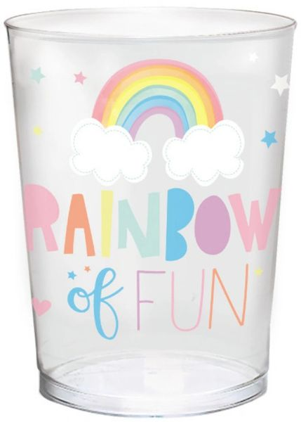 Magical Rainbow Birthday Favor Cup, 16oz