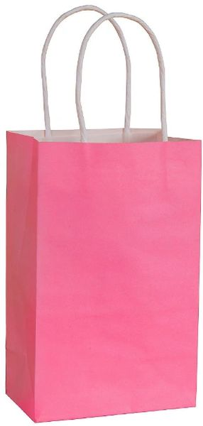 Solid Kraft - Bright Pink Bag