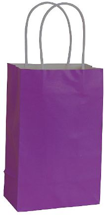 Solid Kraft - New Purple Small Bag