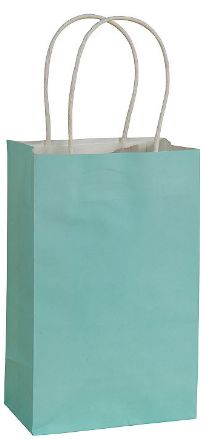 Solid Kraft - Robin's-Egg Blue Small Bag