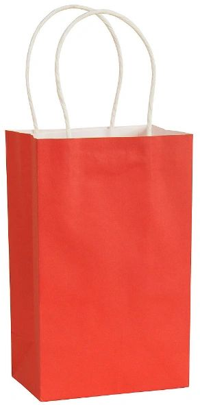 Solid Kraft - Red Small Bag