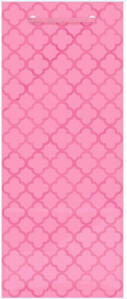 Metallic New Pink Moroccan Bottle Bag
