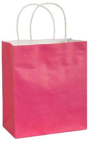 Solid Kraft - Bright Pink Medium Bag