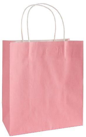 Large New Pink Kraft Gift Bag
