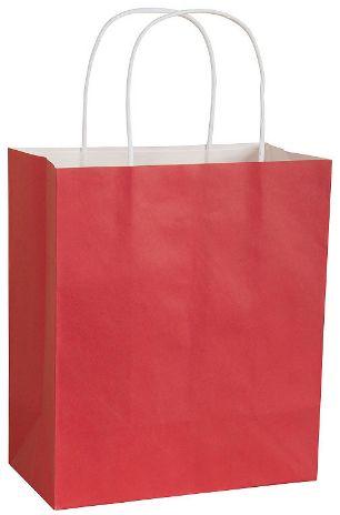 Solid Kraft - Red Medium Bag