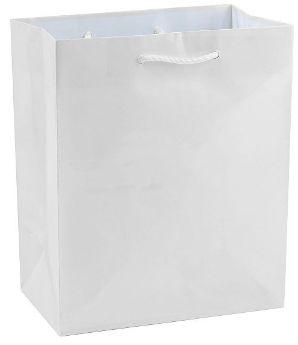 White Glossy Gift Bag