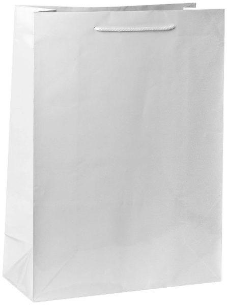 White Jumbo Glossy Bag