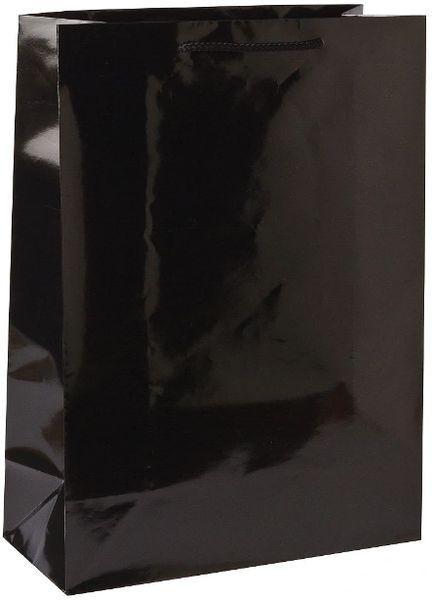 Black Jumbo Glossy Bag