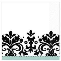 Always & Forever Beverage Napkins, 16ct
