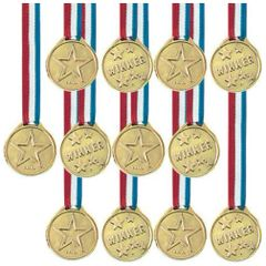 Award Medal Ribbons, 12ct