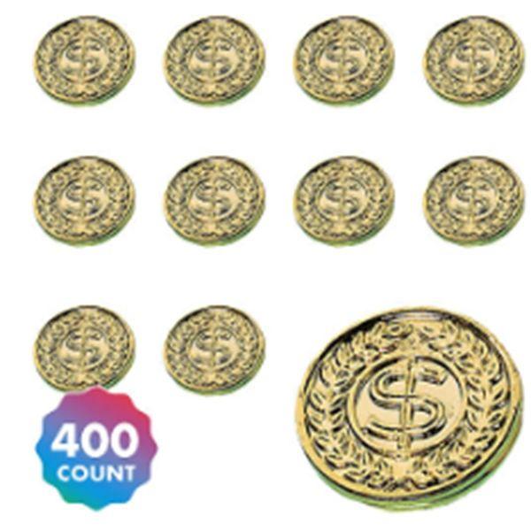 Gold Coin Mega Value Pack Favors, 400ct