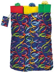 Celebration Streamers Gift Sack