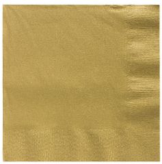 Big Party Pack Gold Beverage Napkins, 125ct