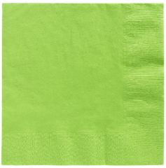 Big Party Pack Kiwi Beverage Napkins, 125ct