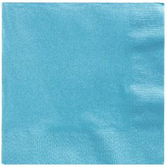 Big Party Pack Caribbean Blue Beverage Napkins, 125ct