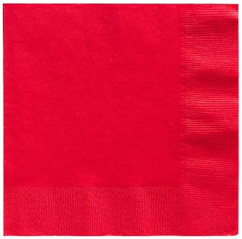 Big Party Pack Red Beverage Napkins, 125ct
