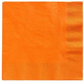Big Party Pack Orange Peel Beverage Napkins, 125ct