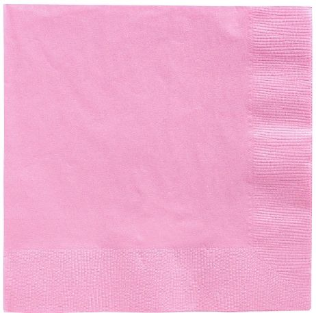 Big Party Pack New Pink Luncheon Napkins, 125ct